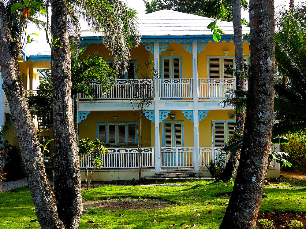 House turned hotel, Las Terrenas, Dominican Republic.