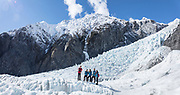 Guided tour on Franz Josef Glacier