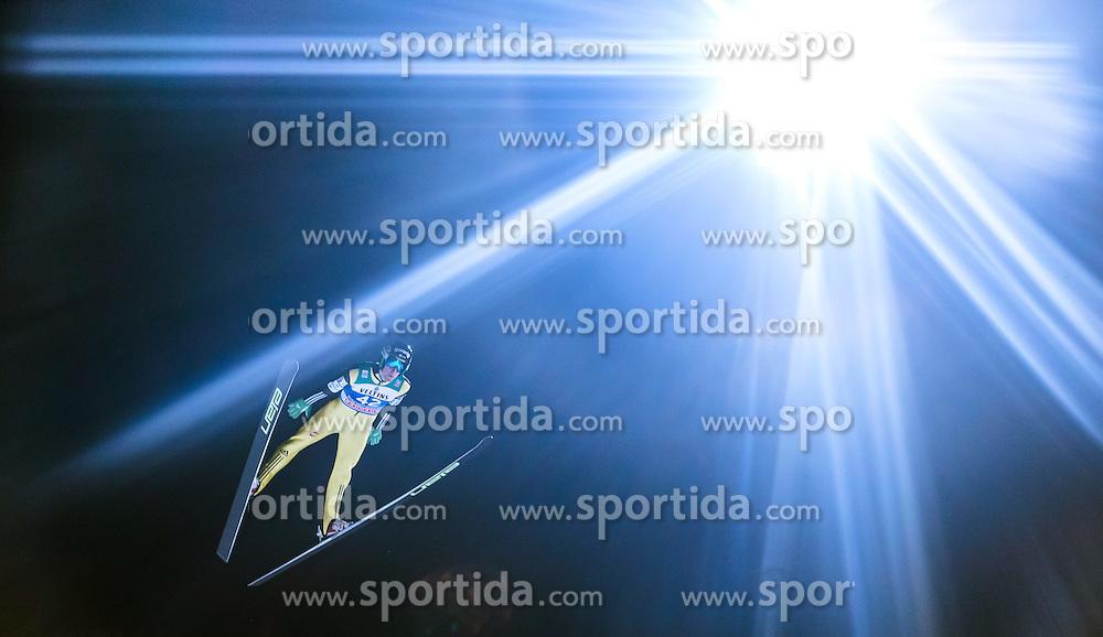 05.01.2015, Paul Ausserleitner Schanze, Bischofshofen, AUT, FIS Ski Sprung Weltcup, 63. Vierschanzentournee, Qualifikation, im Bild Nejc Dezman (SLO) // during Qualification of 63rd Four Hills Tournament of FIS Ski Jumping World Cup at the Paul Ausserleitner Schanze, Bischofshofen, Austria on 2015/01/05. EXPA Pictures © 2015, PhotoCredit: EXPA/ JFK