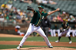 OAKLAND, CA - JULY 23:  Drew Pomeranz #13 of the Oakland Athletics pitches against the Toronto Blue Jays during the second inning at O.co Coliseum on July 23, 2015 in Oakland, California. The Toronto Blue Jays defeated the Oakland Athletics 5-2. (Photo by Jason O. Watson/Getty Images) *** Local Caption *** Drew Pomeranz