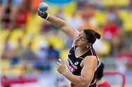 Valerie Adams from New Zealand competes in women's shot put qualification during the 14th IAAF World Athletics Championships at the Luzhniki stadium in Moscow on August 11, 2013.<br /> <br /> Russian Federation, Moscow, August 11, 2013<br /> <br /> Picture also available in RAW (NEF) or TIFF format on special request.<br /> <br /> For editorial use only. Any commercial or promotional use requires permission.<br /> <br /> Mandatory credit:<br /> Photo by © Adam Nurkiewicz / Mediasport