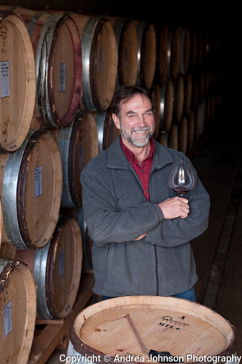 Steve Doerner, winemaker, Cristom Winery, Willamette Valley, Oregon