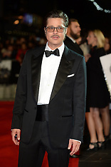 OCT 19 2014 Fury Film Premiere-London Film Festival closing night