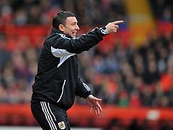 Bristol City Manager, Derek McInnes - Photo mandatory by-line: Joe Meredith/JMP  - Tel: Mobile:07966 386802 29/12/2012 - Bristol City v Peterborough United - SPORT - FOOTBALL - Championship -  Bristol  - Ashton Gate Stadium -
