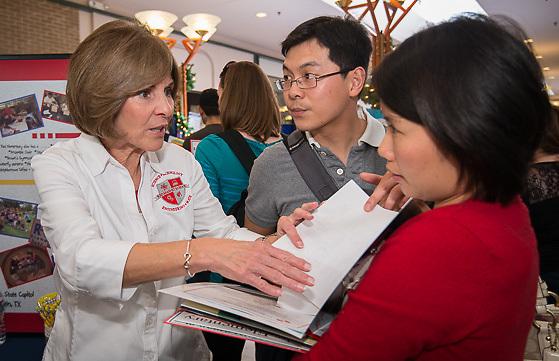 Houston ISD School Choice Fair at Northwest Mall, November 2, 2013.