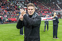 ALKMAAR - 11-12-2016, AZ -  Feyenoord, AFAS Stadion, 0-4, afscheid Markus Henriksen.