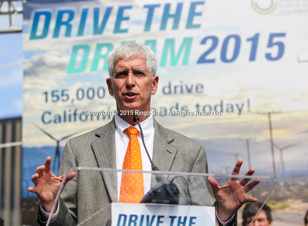 David Pogue, Global Director Corporate Responsibility, CBRE, speaks in Drive the Dream 2015 event at Creative Artists Agency in Los Angeles October 15, 2015.  (Photo by Ringo Chiu/PHOTOFORMULA.com)