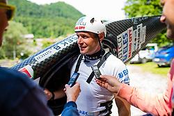 Benjamin Savsek during the Kayak Single (C1) Men race of Tacen Cup 2020 on May 24, 2020 in Tacen, Ljubljana, Slovenia. Photo By Grega Valancic / Sportida