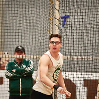 Kieran Johnston, Saskatchewan, 2019 U SPORTS Track and Field Championships on Thu Mar 07 at James Daly Fieldhouse. Credit: Arthur Ward/Arthur Images