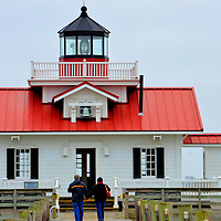 Roanoke Marshes Lighthouse in Manteo, North Carolina<br />