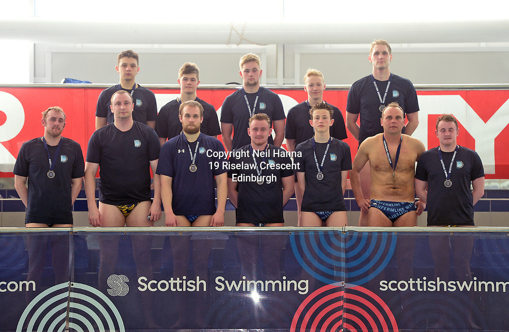Water Polo Cup Finals Day<br /> <br /> Men&rsquo;s Final<br /> <br /> Dunfermline vs Portobello<br /> <br />  Neil Hanna Photography<br /> www.neilhannaphotography.co.uk<br /> 07702 246823