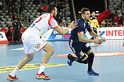 Kentin Mahe (France) during the EHF 2018 Men's European Championship, 1/2 final Handball match between France and Spain on January 26, 2018 at the Arena in Zagreb, Croatia - Photo Laurent Lairys / ProSportsImages / DPPI
