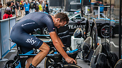 Danny Pate (USA) of Team Sky, Tour de France, Stage 20: Bergerac > Périgueux (ITT), UCI WorldTour, 2.UWT, Bergerac, France, 26th July 2014, Photo by Pim Nijland / PelotonPhotos.com