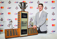 REGINA, SK - MAY 26: Player of the Year Alex Barre-Boulet of Blainville-Boisbriand Armada at the Brandt Centre on May 26, 2018 in Regina, Canada. (Photo by Marissa Baecker/CHL Images)