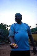 Curionopolis (Serra Pelada) _ PA, 08 Novembro de 2006....Retratos de ex garimpeiros da Serra Pelada.....Na foto: Pele, ex-garimpeiro frustrado da Serra Pelada, atualmente e taxista em Maraba.......Foto: BRUNO MAGALHAES / AGENCIA NITRO....Foto exclusiva para divulgacao do filme. Proibida recirculacao. Outros usos contactar Agencia Nitro (31) 3297 7848.....!CREDITOS OBRIGATORIOS!..