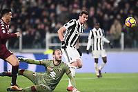 Gol Mario Mandzukic Juventus 2-0 Goal celebration <br /> Torino 03-01-2018 Allianz Stadium Calcio Coppa Italia Quarti di Finale Juventus - Torino foto Image Sport/Insidefoto