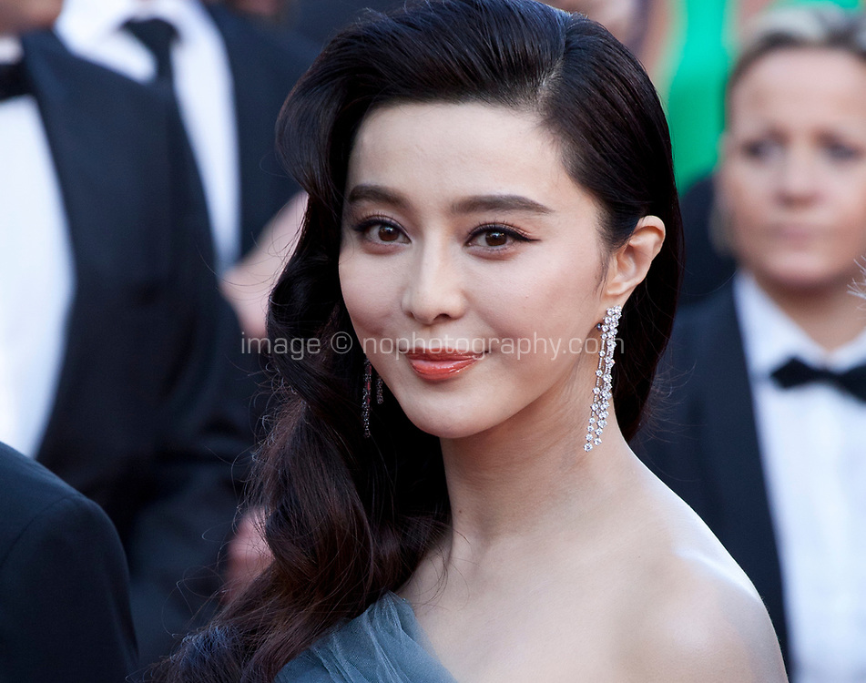 Fan Bingbing arriving to the Closing Ceremony and awards at the 70th Cannes Film Festival Sunday 28th May 2017, Cannes, France. Photo credit: Doreen Kennedy