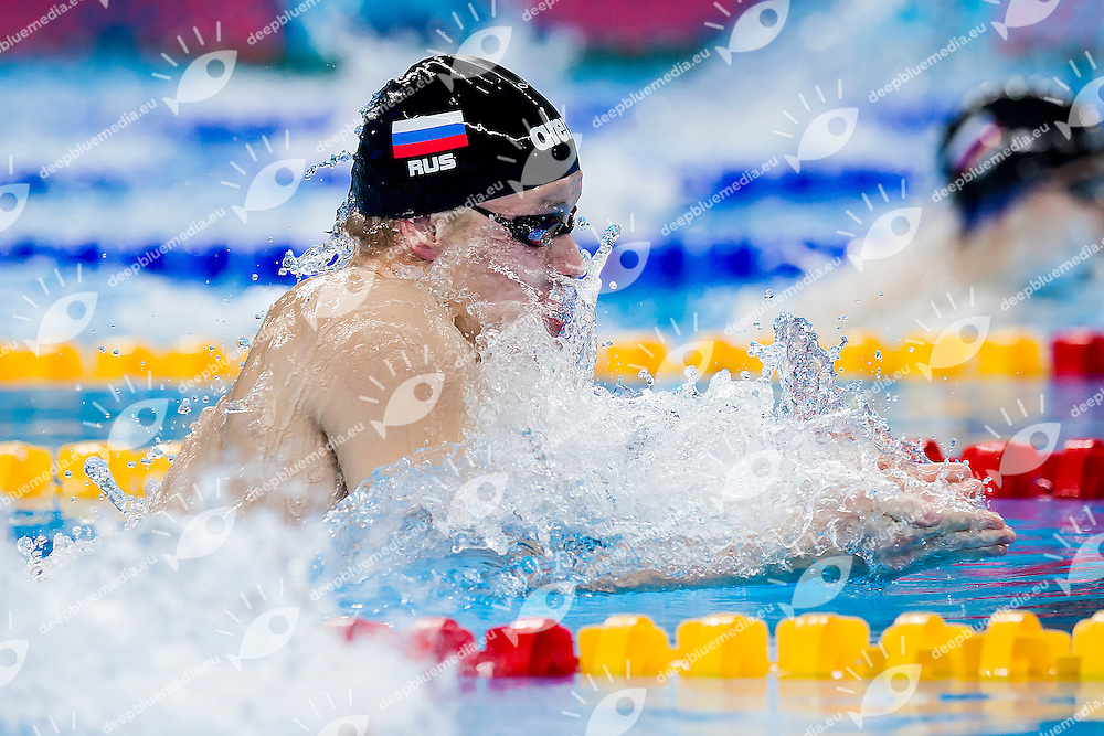 SUCHKOV Egor RUS<br /> 100 Breaststroke Men Heats Swimming<br /> 1st European Olympic Games <br /> Baku Azerbaijan 12-28/06/2015<br /> Photo Andrea Masini/Deepbluemedia/Insidefoto