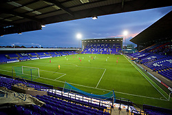 BIRKENHEAD, ENGLAND - Wednesday, September 28, 2016: A general view of Prenton Park as Liverpool take on Wolfsburg during the Premier League International Cup match. (Pic by David Rawcliffe/Propaganda)
