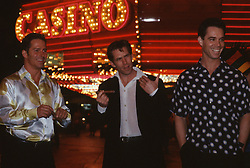 Three Men On The Town In Las Vegas