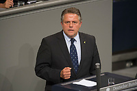 29 JUN 2012, BERLIN/GERMANY:<br /> Klaus-Peter Willsch, MdB, CDU, Bundestagsdebatte zum Fiskalpakt, zum dauerhaften Euro-Rettungsschirm ESM, zur ESM-Finanzierung und zur Aenderung des Vertrags über die Arbeitsweise der Europaeischen Union , Plenum, Deutscher Bundestag<br /> IMAGE: 20120629-01-133<br /> KEYWORDS: Fiskalpakt, dauerhafter Rettungsschirm EFSM, Fiskalvertrag, Einrichtung des Europäischen Stabilitätsmechanismus, Europäischen Stabilitätsmechanismus ESM-Finanzierungsgesetz ESMF, Stabilitaetsunion