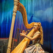 WASHINGTON, DC - December 10th, 2015 - Joanna Newsom performs at the Lincoln Theatre in Washington, D.C. In October she released her fourth studio album, Divers, to great critical acclaim.  (Photo By Kyle Gustafson / For The Washington Post)