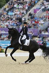 Sprehe, Kristina, Desperados<br /> London - Olympische Spiele 2012<br /> <br /> Dressur Grand Prix de Dressage<br /> © www.sportfotos-lafrentz.de/Stefan Lafrentz
