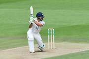 Rilee Rossouw of Hampshire batting during the Specsavers County Champ Div 1 match between Hampshire County Cricket Club and Surrey County Cricket Club at the Ageas Bowl, Southampton, United Kingdom on 11 June 2018. Picture by Graham Hunt.