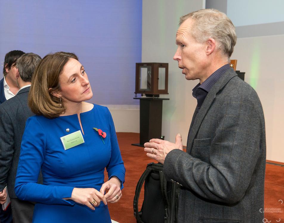 Inaugural WWF Living Planet Lecture at The Royal Society, London. 3/11/2016
