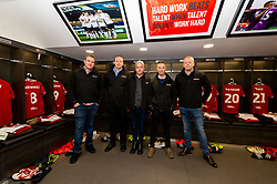 Dentons on their pre match tour prior to kick off - Mandatory by-line: Ryan Hiscott/JMP - 17/02/2019 - FOOTBALL - Ashton Gate Stadium - Bristol, England - Bristol City v Wolverhampton Wanderers - Emirates FA Cup fifth round proper