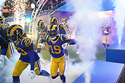 LA Rams entrancre into wembley stadium during the International Series match between Los Angeles Rams and Cincinnati Bengals at Wembley Stadium, London, England on 27 October 2019.