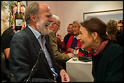 VISCOUNT COWDRAY; KELLY-ANNE PAGE, Mim Scala, In Motion, private view. Eleven. Eccleston st. London. 9 October 2014.