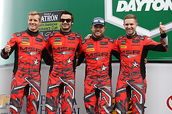 January 27, 2018 - Daytona, FLORIDE, ETATS UNIS - 93 MICHAEL SHANK RACING W CURB AGAJANIAN (USA) ACURA NSX GT3 ACURA GTD JUSTIN MARKS (USA) LAWSON ASCHENBACH (USA) MARIO FARNBACHER (DEU) COME LEDOGAR  (Credit Image: © Panoramic via ZUMA Press)