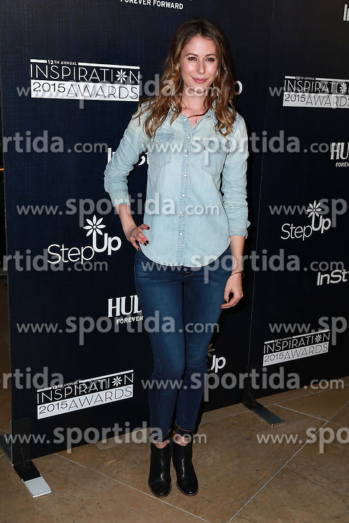 Amanda Crew at the Step Up Women's Network 12th Annual Inspiration Awards, Beverly Hilton Hotel, Beverly Hills, CA 06-05-15. EXPA Pictures &copy; 2015, PhotoCredit: EXPA/ Photoshot/ Martin Sloan<br /> <br /> *****ATTENTION - for AUT, SLO, CRO, SRB, BIH, MAZ only*****
