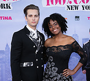 2019, June 21. Kinepolis Jaarbeurs, Utrecht, the Netherlands. Ethan Allington and Genelva Krind at the premiere of 100% Coco in New York