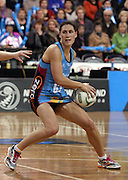 Jodi Brown in action for the Steel.<br /> ANZ Championship - Steel v Pulse, 28 May 2012, The Edgar Centre, Dunedin, New Zealand.<br /> Photo: Rob Jefferies / photosport.co.nz