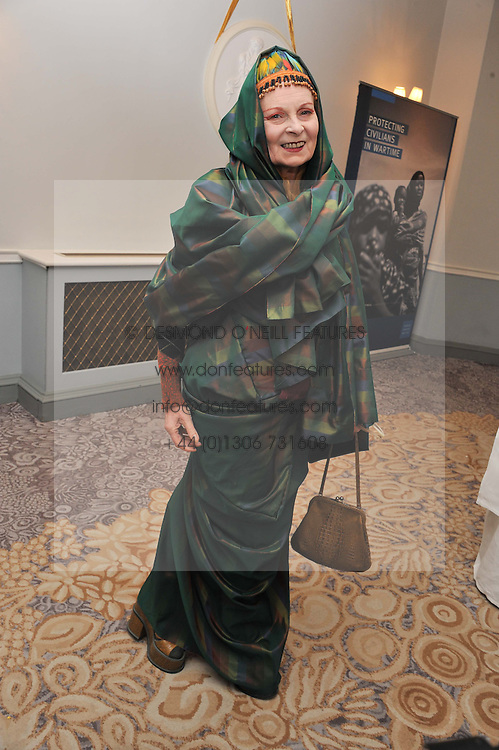 DAME VIVIENNE WESTWOOD at the 4th Fortune Forum Summit held at The Dorchester Hotel, Park Lane, London on 4th December 2012.