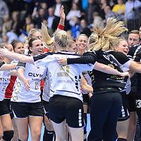 HBALL: 16-04-2017 - Nykøbing F. Håndboldklub - SG BBM Bietigheim - EHF Cup