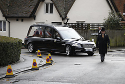 © Licensed to London News Pictures. 01/02/2017. Watford, UK. The funeral of former England football team manager Graham Taylor takes place at St Mary's Church in Watford, Hertfordshire. The former England, Watford and Aston Villa manager,  who later went on to be chairman of Watford Football Club, died at the age of 72 from a suspected heart attack. Photo credit: Peter Macdiarmid/LNP