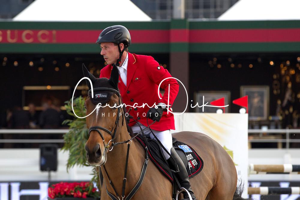 Dreher Hans Dieter (GER) - Sanne R<br /> Final Global Champions Tour - Abu Dhabi 2012<br /> &copy; Hippo Foto - Cindy Voss