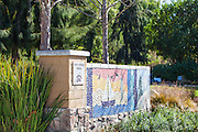 Oso Creek Trail Mosaic Tile Wall Mission Viejo