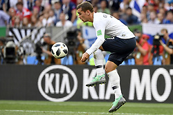 June 26, 2018 - Moscow, RUSSIA - France's Antoine Griezmann pictured in action during the soccer game between France and Denmark, the third game in group C at the 2018 FIFA World Cup, in the Luzhniki stadium in Moscow, Russia, Tuesday 26 June 2018. BELGA PHOTO DIRK WAEM (Credit Image: © Dirk Waem/Belga via ZUMA Press)