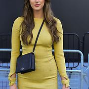 Melanie Baird (@missmelaniebaird) attend London Fashion Week SS19 street photography at the Strand, London, UK. 17 September 2018.
