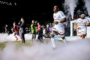 Yannick NYANGA KABASELE (Racing Metro 92) during the European Rugby Champions Cup, Pool 4, Rugby Union match between Racing 92 and Munster Rugby on January 14, 2018 at U Arena stadium in Nanterre, France - Photo Stephane Allaman / ProSportsImages / DPPI