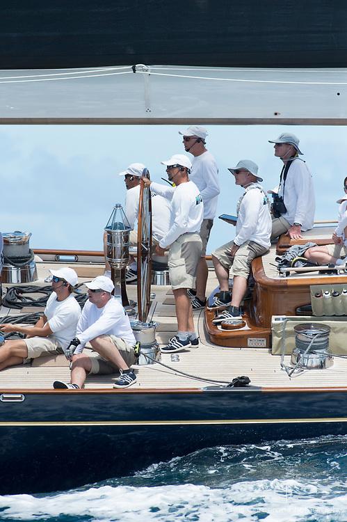 Bermuda, 13th June 2017. America's Cup Superyacht regatta. J Class, Lion Heart JH1
