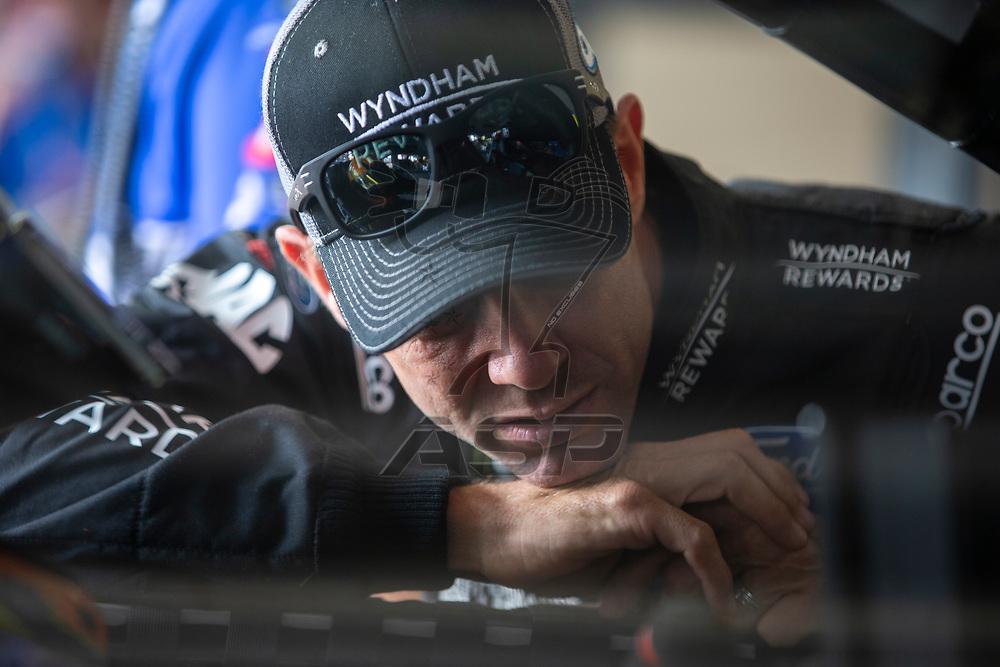 May 11, 2018 - Kansas City, Kansas, USA: Matt Kenseth (6) gets ready to practice for the KC Masterpiece 400 at Kansas Speedway in Kansas City, Kansas.