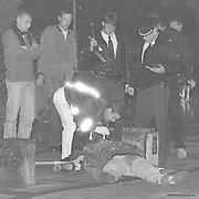 Schietpartij Eemnesserweg Baarn, een dode, een gewonde