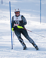 Alpine skiing Lakes Region Championships at Gunstock Mountain Resort January 27, 2011.