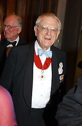 PROF.SIR COLIN ST.JOHN WILSON at the Royal Academy dinner before the official opening of the Summer Exhibition held at the Royal Academy of Art, Burlington House, Piccadilly, London W1 on 1st June 2005.<br /><br />NON EXCLUSIVE - WORLD RIGHTS