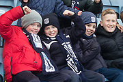 3rd February 2018, Dens Park, Dundee, Scotland; Scottish Premier League football, Dundee versus Ross County; Dundee fans